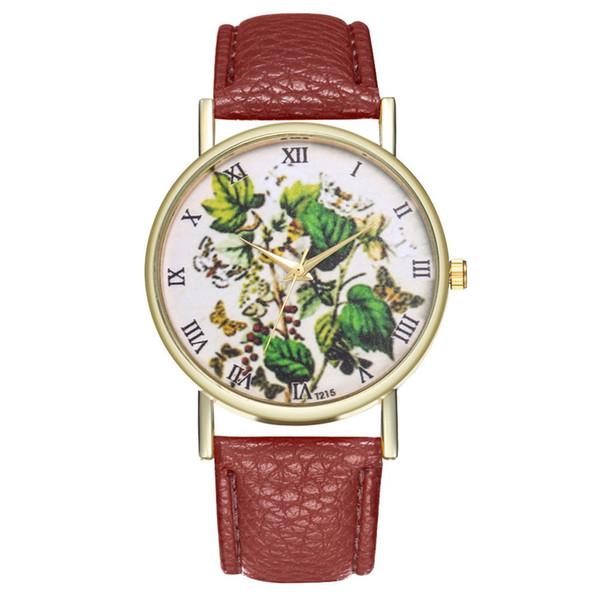 Women's Bracelet Watches Fashion Ladies Bracelet Dress Watches Clock Leather Strap Luxury Wrist Watch For Couple