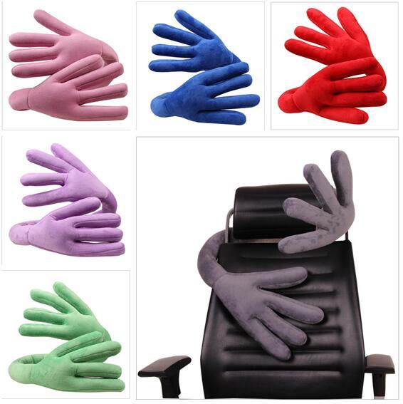 Travel Pillow of bends For Airplane Multi-function Car Pillow Hand shape Neck Comfortable Memory office Pillows Head Top Quality Xmas Gifts