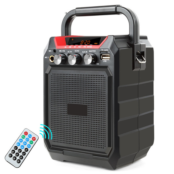 Wireless Portable Bluetooth Speaker Stereo Heavy Bass Music Player Support Remote Control FM Radio TF USB Microphone high quality
