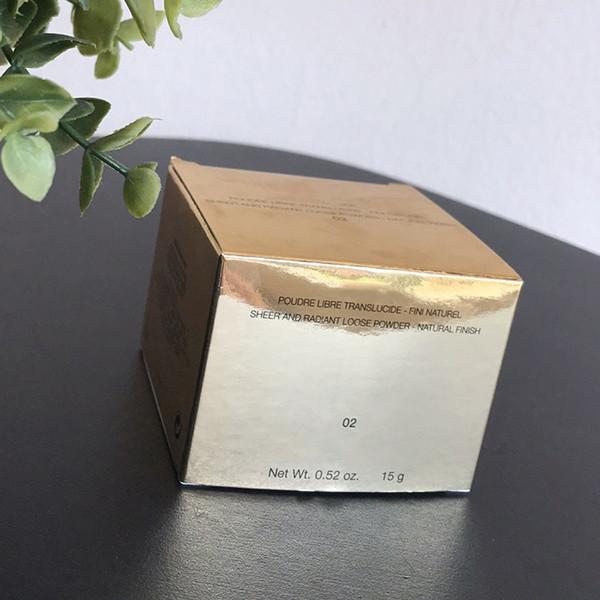 2018 nouveau Mode Souffle D'ECLAT Poudre Libre Translucide Radiant Lâche Poudre Naturel Finition Maquillage Fix Fondation Poudre