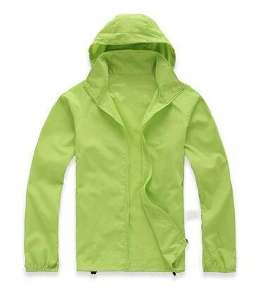 best selling 2018 New Summer Womens Mens kids Brand Rain Jacket Coats Outdoor Casual Hoodies Windproof and Waterproof Sunscreen Face Coats XS-XXXL