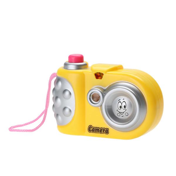 Crianças bebê Câmera de Projeção Brinquedo Divertido Levou Projeção De Luz Animal Dos Desenhos Animados Padrão de Aprendizagem Educacional Brinquedos Crianças