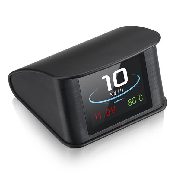 Coche OBD Hud Pantalla Proyector de velocidad Velocímetro digital Pantalla Consumo de combustible Temperatura OBD2 EUOBD Gauge Herramienta de diagnóstico