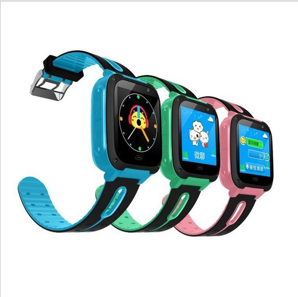 Kids Children Smart Watch Touchscreen SIM GPS with Wifi SOS Call Location Device Tracker Study Wrist WatchQ9