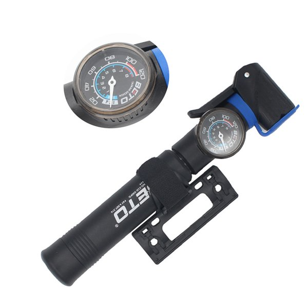BETO MP-036 High-end Mountain Bike Portable High-pressure Inflator Hose Screw Type Inflatable Pump Mini Pump Bicycle