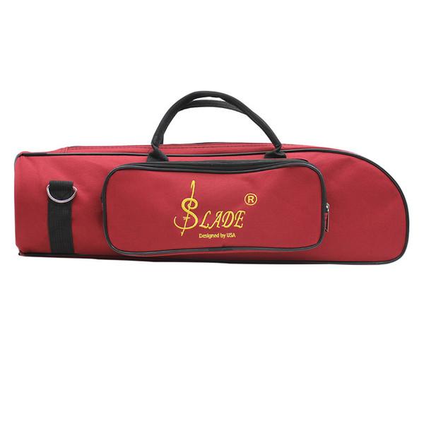 DCOS-SLADE Professional Trumpet Bag Oxford + Soft Cotton Bag Case Double Zippers Design