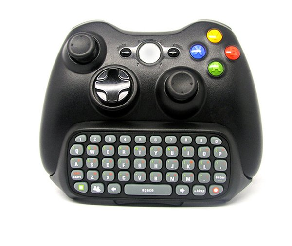 Travel Portable Wireless Mini Live Text Messenger Chatpad Keypad Adapter Keyboard for Xbox 360 GamePad Game Gaming Controller