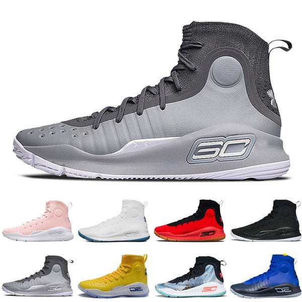 cheap for discount 8a38f 92b30 Cheap Under Armour Ua Curry 4 Mens Basketball Shoes Mvp All Star Flushed  Pink More Dubs Athletic Sports Sneakers Cushion Trainers Outdoor Designer  Men ...
