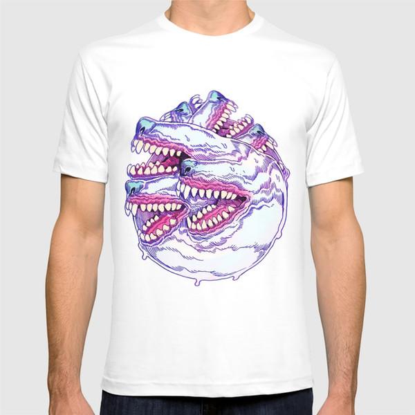 2018 nova camisa de t camisa HOUNDSTOOTH PHENOMENA