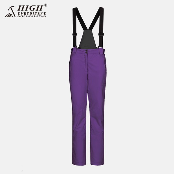 pantalon violet foncé