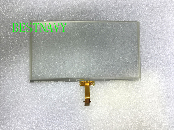 top popular New original L.G 6.1Inch LCD touch panel LA061WQ1(TD)(04) LA061WQ1-TD04 only touch digitizer for Toyota car DVD GPS navigation 2021