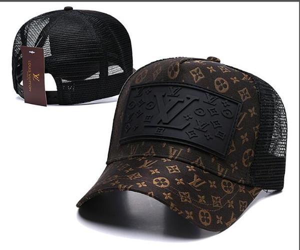 En gros casquettes de baseball de luxe marque designer casquettes de broderie pour hommes snapback hat mens chapeaux casquette visière gorras os casquettes réglables
