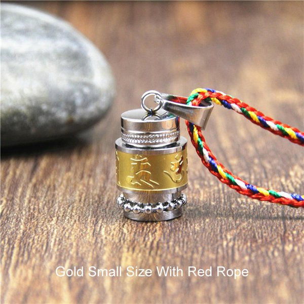 Gold-Small Size-Red Rope