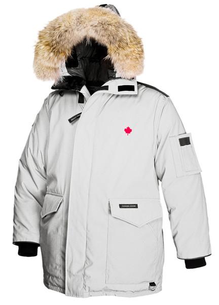 Großhandel Winter Outdoor Kanada Jacken Für HELI ARCTIC PARKA Verdicken Lässig Bequeme Verdickung Warme Daunenbekleidung Gänsedaunen Winterjacke Von