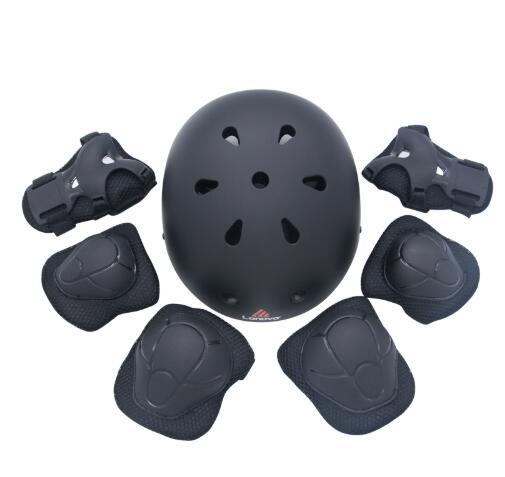 7 pcs/set Skating Protective Gear Sets Elbow pads Bicycle Skateboard Ice Skating Roller Knee Protector For Kids