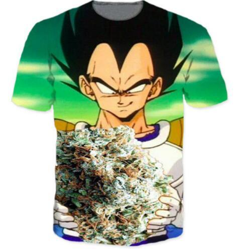 new fashion Dragon Ball Z Funny 3D Print Casual T-Shirt Men and Women Clothing Hip Hop Style Street Tops Comfortble Tee Shirts quick dry tee