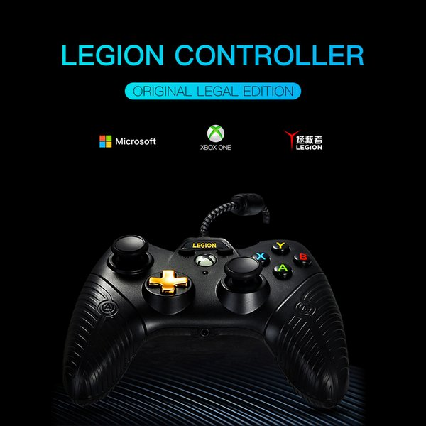 Soundfox Wire Gamepad Game Controller Joystick for XBOX ONE and PC Wired Controller Gamepad with Dual Vibration Joypad Gaming Controllers