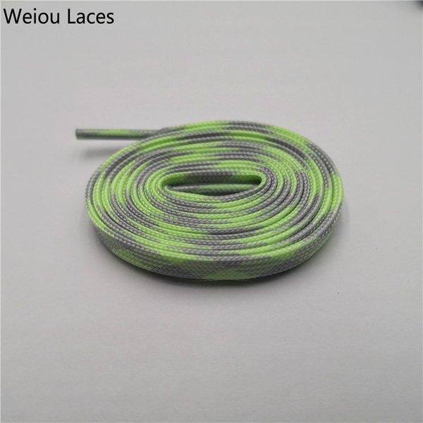 1349 Glow Light Grey-Glow Green 120cm