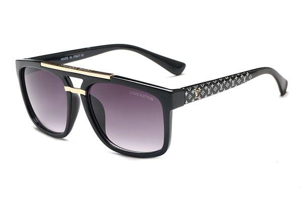 Moda de lujo 9013 hombres poligonales europeos y americanos gafas de sol de conducción glassesmens para mujer diseñador gafas de sol envío gratis