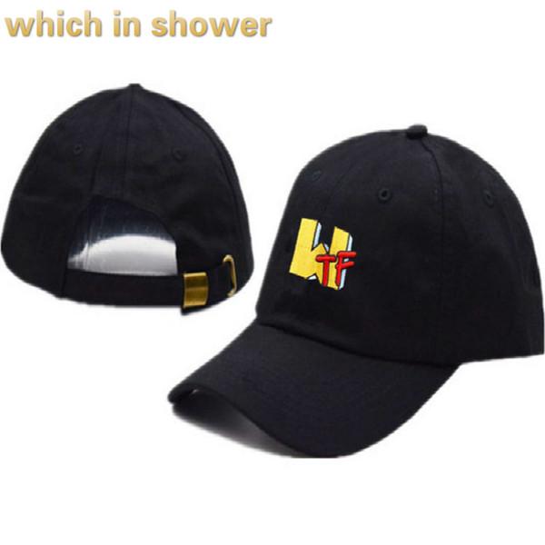 WTF papá sombrero para mujer carta de algodón bordado unisex gorra de béisbol hip hop hombres tapa snapback sombrero femenino k pop envío de la gota