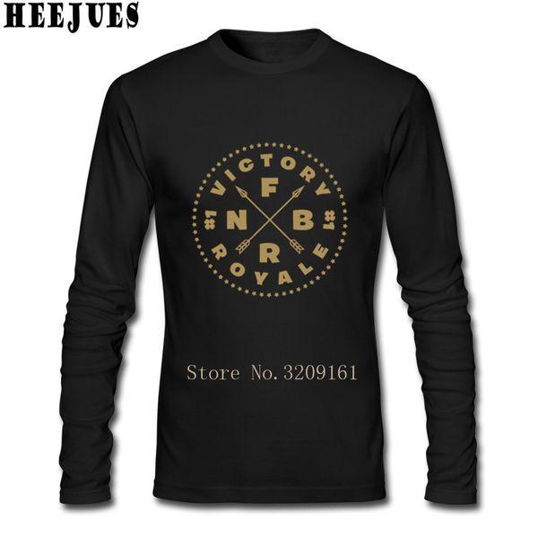 Long Sleeve T-Shirt Man Cheap Price Fortnite Battle Royale Tees Male Designer Best T Shirts 2018 new funny tshirt hot sale