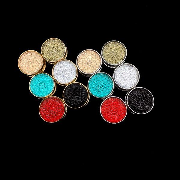 SHARPPIN Altın Gümüş Kaplama Mıknatıs Broş Kadınlar Için 12 ADET Mıknatıs Broş Pin Müslüman Emniyet Eşarp Pimleri Başörtüsü Karışık Renk