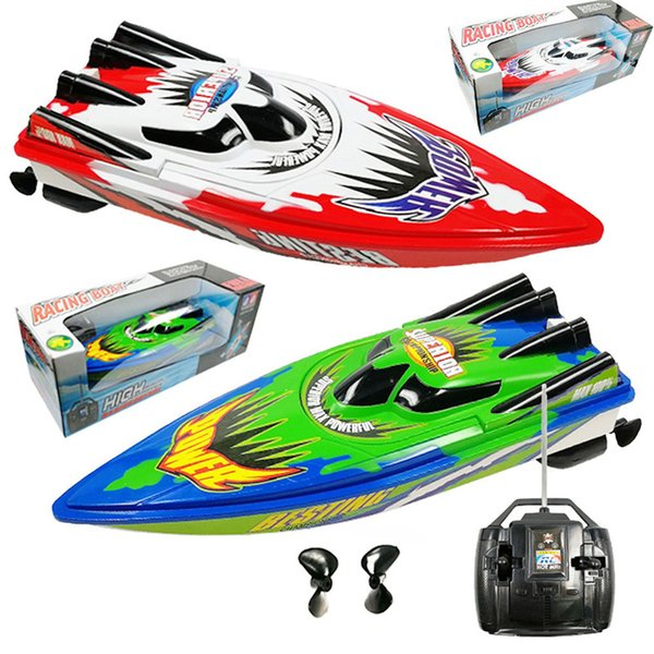 best selling Non rechargeable High Speed Remote Control Yacht 2 Motors Rapid Speedboat Boat