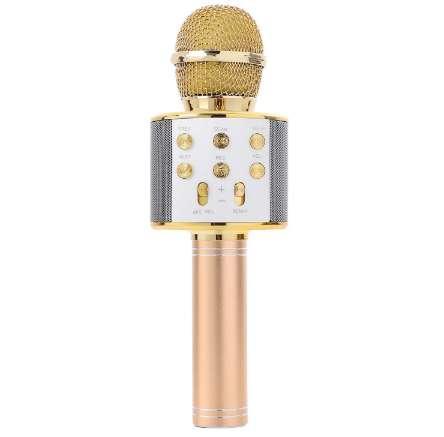 Handheld Bluetooth Wireless Karaoke Microphone Phone Player MIC Speaker Record Music KTV Microphone