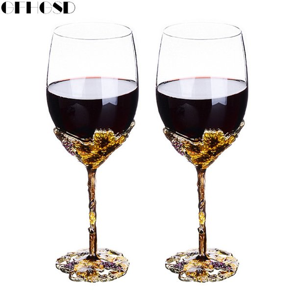 GFHGSD Champagne Glass Flutes Perfect for Wedding Gifts, Set of 2, Luxury Crystal Toasting Flutes and Wine Glasses QAZ1030