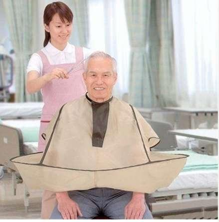 New Style Hair Cutting Salon Barber Hairdressing Gown Family Cloak Umbrella Cape