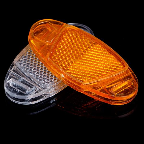 4 Pcs Bicycle Warning Light Bicycle Bike Spoke Reflector Safety Warning Light Wheel Rim Reflective Mount Accessories
