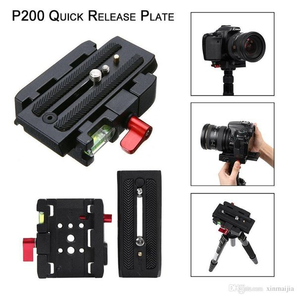 Быстрый релиз QR пластины зажим адаптер базовая станция для цифровой камеры Manfrotto 501 500AH