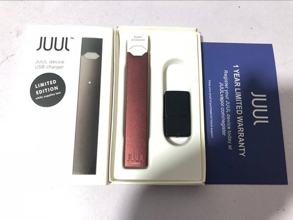 Clone JUUL Starter Kit With Juul Body Battery Magnetic Wireless Usb Charger  Vape Pen Without Pod Jili Coco Skins Cases Vaporizer Electronic Cigar Kit