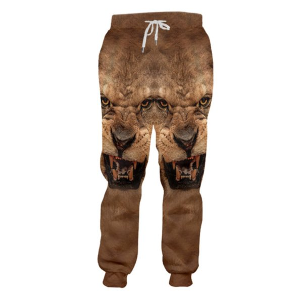 New style Fashion Animal Tiger 3d Printing Mens/Womens casual joggers pants y05