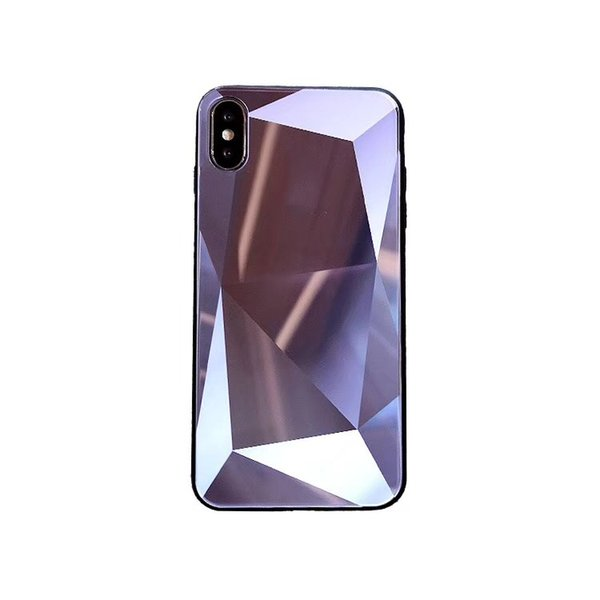 New arrival for designer phone cases iphone 8 plus Diamond grain 3D stereo scopic tempered glass for Goophone x designer phone case