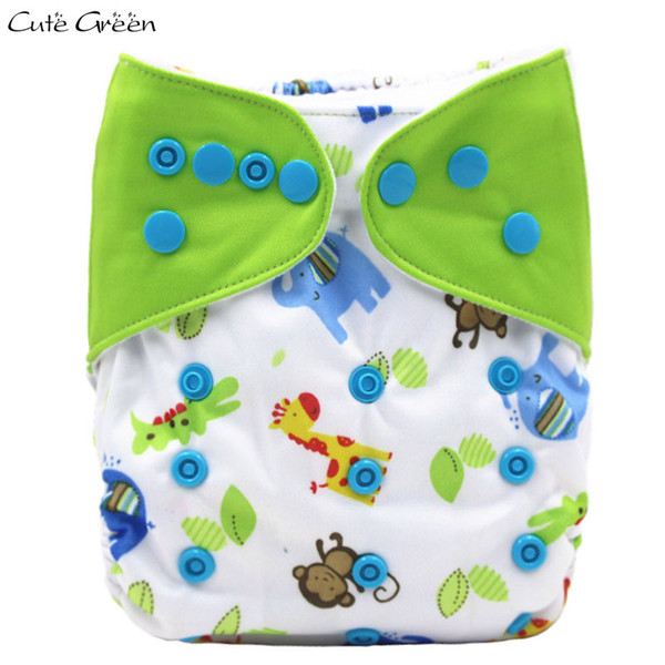 Splice Design Baby Pocket Cloth Diaper Waterproof PUL Stay Dry Suede Cloth Inner Baby Diapers Nappies One Size Baby Cloth Nappy