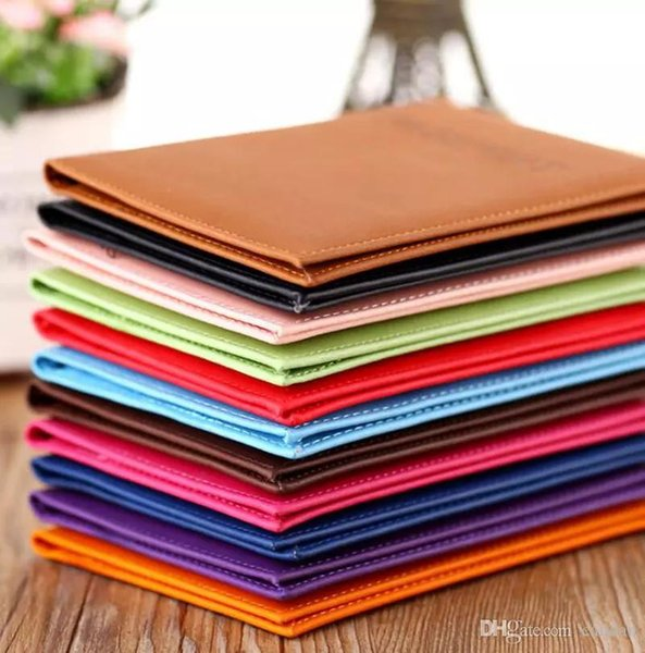 Passport Wallets Card Holders holder Cover Case Protector PU Leather Travel purse wallet bag Passport ID Cover Case 11 color KKA2043