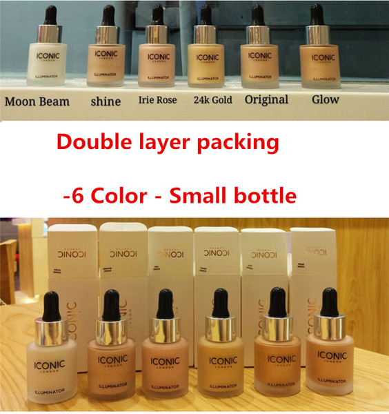 Dropshipping Iconic London Illuminator Liquid Highlighter In Shine Original  Shine Glow Three Color Face Make Up Highlighter New Face Highlighter