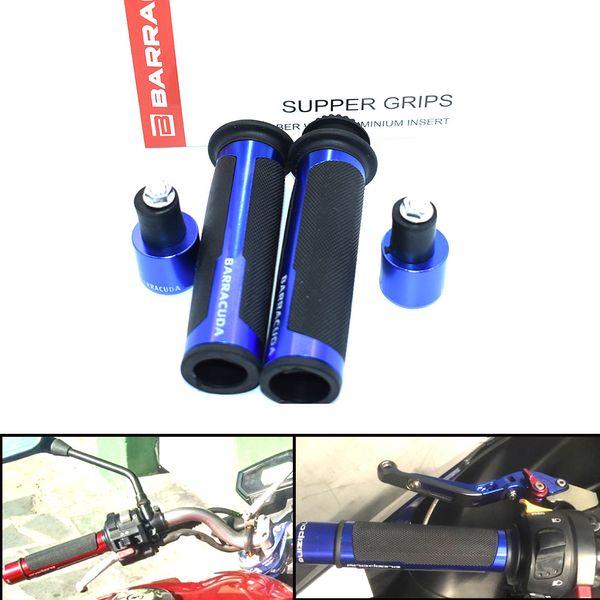 best selling For 22   24mm Handle Motorcycle Handlebar Grip Hand Grips Bike Pit Bike Cafe For pcx125 pit bike gsr 600 honda shadow 750