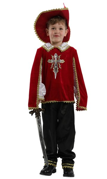 Shanghai Story Halloween Crusades Costume for Boys Warrior knight Cosplay Kids Children Carnival Masquerade party dress