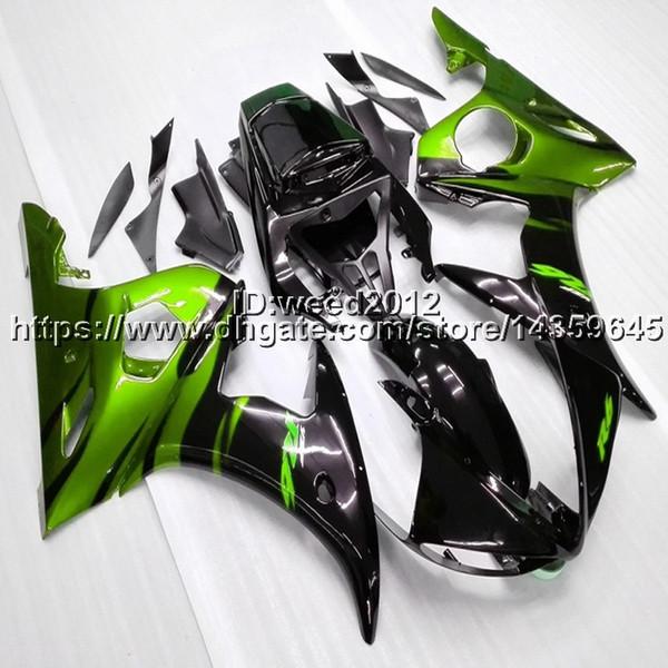 Motocicleta Aftermarket YZF R6 2003 2004 2005 motocicleta ABS Kit de carrocería de plástico para YAMAHA YZF R6 2003 2004 2005 ABS kits de carenado completo de plástico