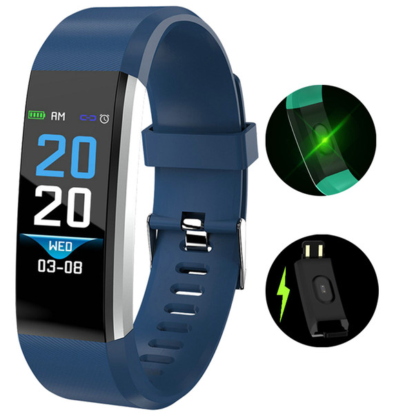 NEW Smart Bracelet Waterproof ECG Real -time Minitor Dynamic Heart Rate Sport Fitness Wristband Support USB-charge Men Watch