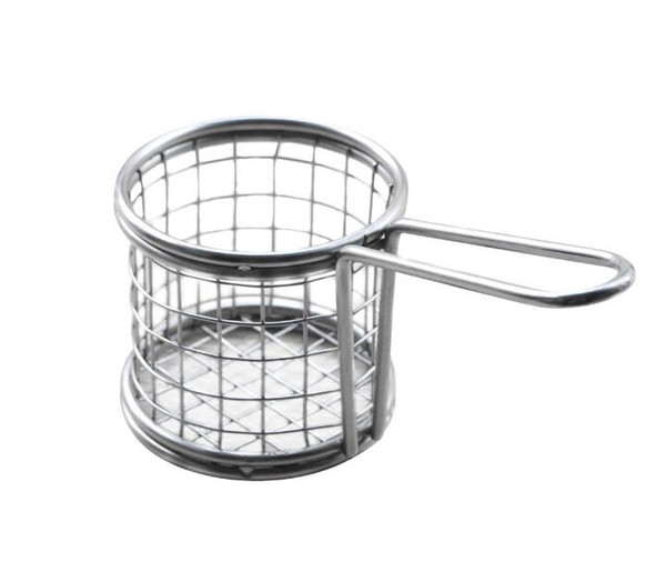Stainless Steel Fry Chef Baskets Vegetable Meat French Fryer Basket Strainer Net Colander Kitchen Cooking Tool