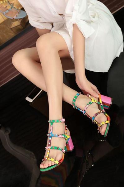 Arc-en-talons hauts 2018 Nouveau Style Été Sexy Dames escarpins nus chaussures Compensées Sandales Slingbacks Bout Ouvert Sandale À Talons Hauts Femmes Parti W