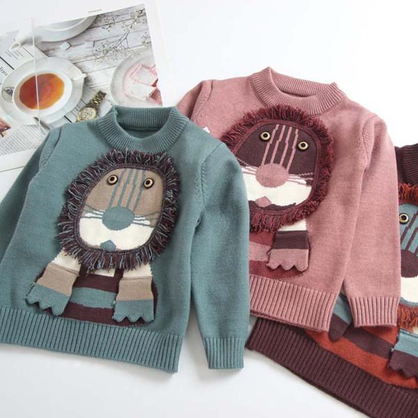 1d20e4558 Autumn Winter Children Sweaters Cute Cartoon Kids Sweater Girls ...
