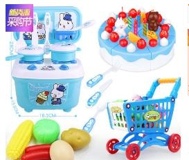 China tomada de fábrica venda quente divertido play house toys simulação cozinha meninos meninas panelas kitchenware brinquedo atacado