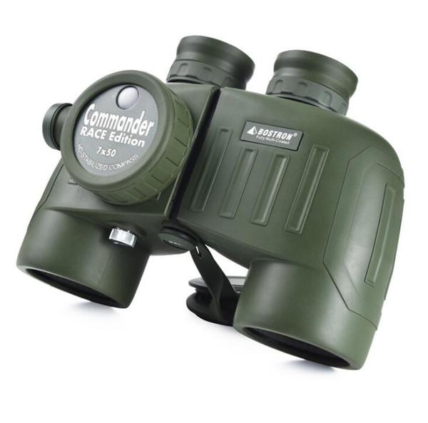BOSTRON 7X50 Poderoso Binóculos Militares Telescópio Profissional com rangefinder Nitrogênio binóculos à prova d 'água Visão Noturna Lll