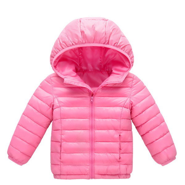 Sunshine Swing 2018 winter new children's clothing boys and girls cotton children's lightweight down jacket cotton baby jacket