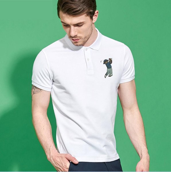 Brand Clothing Polo Shirt Solid Casual Polo Homme For Men Tee Shirt Tops High Quality Cotton Slim Fit T-Shirt 10 colos 3XL Size