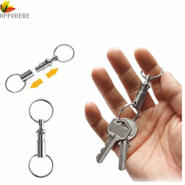 Bottle Opener Keyring UK Seller NEW Aluminium Metal Key Ring Can Pull Ring